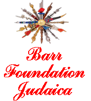 Barr Foundation Judaica logo